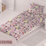 Принцес пинк – детско спално бельо
