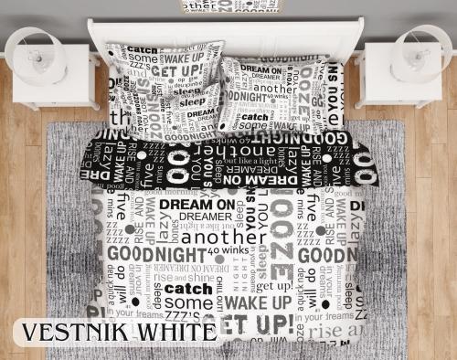 Вестник уайт – Спално бельо